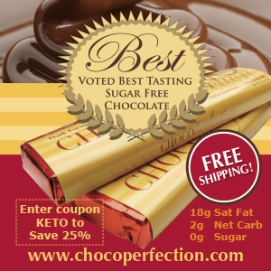 Chocoperfection Low Carb Chocolate
